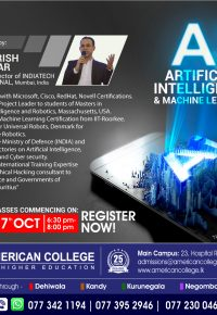 Certificate in Artificial Intelligence & Machine Learning