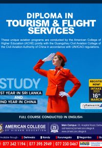 Diploma in Tourism & Flight Services