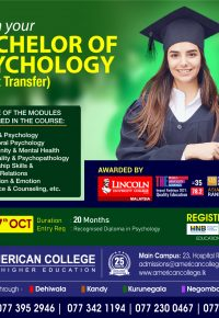 Bachelor of Psychology (Credit Transfer)