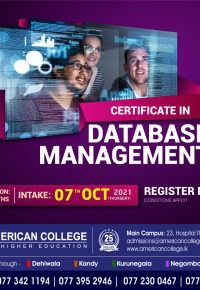 Certificate in Database Management