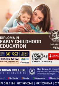 Diploma in Early Childhood Education