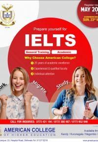 IELTS (Preparation Classes)