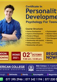 Certificate in Personality Development Psychology for Teenagers