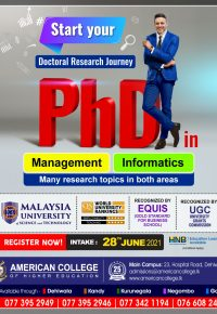 PhD in Management / PhD in Informatics