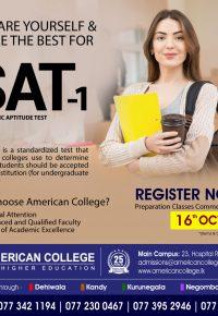 SAT-I (Preparation Classes)