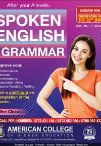Spoken English & Grammar