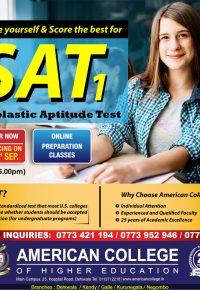 SAT (Preparation Classes)