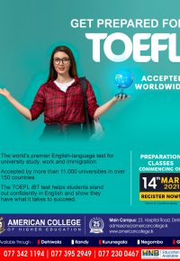 TOEFL (Preparation Classes)