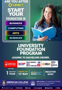 University Foundation Program